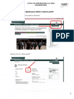 Guía Rápida Para Editar Nuestro Perfil