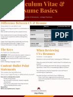 cv   resume basics