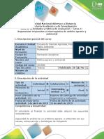 Guia de Actividades y Ribrica de Evaluacion - Tarea 4 - Argumentar Respuestas a Interrogantes de áMbito Agrario y Ambiental