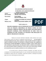 Ri -0007830-34.2015.8.05.0080  -Voto Ementa Consumidor Vício Não Demonstrado Do Produto Falta de Interesse de Agir