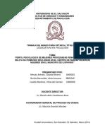 Perfil psicológico de mujeres procesadas penalmente por el delito de homicidio recluidas en el Centro de Readaptación de Mujeres en el Municipio de Ilopango..pdf