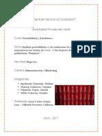 Análisis Estadísticos de en Cuánto Aumentaron Las Ventas de Coca Cola Después de La Campaña Publicitaria