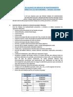 DA Servicio de Mantenimiento Preventivo y Correctivo Motomba - Tanque El...