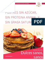 Dulces Saludables Veganos
