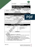 Manual Practica 1 Programacion Orientada a Objetos