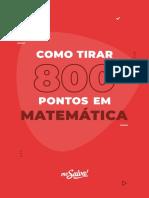 1553602080E Book Como Tirar 800 Pontos Em Matematica