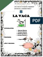 Esquema de Análisis de Textos Literarios La Vaca