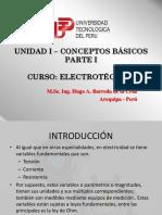 Unidad I - Diapo 01 - Conceptos Básicos Electrotecnia