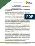 CONSTRUCCIÓN DE LA VÍA FÉRREA MOTACUCITO - MUTÚN - PUERTO BUSCH