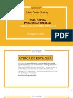 1 Guia Rapida Crear Blog