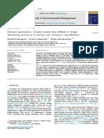 1-s2.0-S0301479717307521-Main.pdf Eliminacin de Metales Por Nanofiltracion