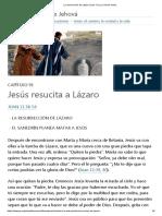 La Resurrección de Lázaro (Juan 11) _ La Vida de Jesús