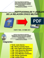 Fundamentos e Integracion Civico Militar