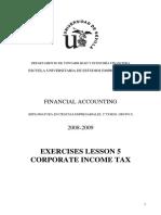 Tax Exercises