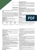 acetazolamide/Diamox