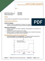 Cálculo del factor de seguridad para las piezas de un aerogenerador.