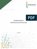 Informe Mensual CNE Ene19