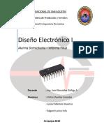 Informe Final - Diseño Electronico I
