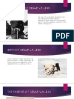 Biography of César Vallejo