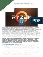 Cómo Hacer Que Ryzen Funcione en Windows 7 x64