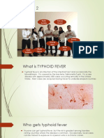Group 2 Typhoid Fever 2018A