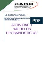 Modelos Probabilisticos.