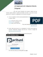 Manual - Servidor Pritunl (OpenVPN) Em Máquina Dedicada Cliente E2