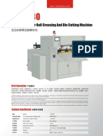 J DC930 Automatic Paper Roll Die Cutting Machine