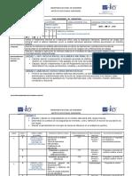 Contenido y Calendario Análisis Estructural 1
