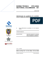Norma Tecnica Sectorial Colombiana NTS USNA 001