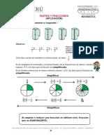 FRACIONES Y  Matemática