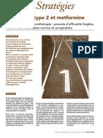 Diabete de Type 2 Et Metformine