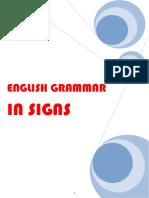 English Grammar in Signs