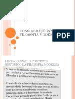 CONSIDERAÇÕES SOBRE A FILOSOFIA MODERNA.pptx