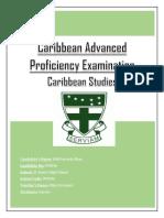 Caribbean Studies IA.docx