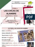 Presentacion Las Chicas de Alambre