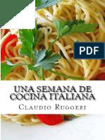 Una Semana de Cocina Italiana ( - Claudio Ruggeri