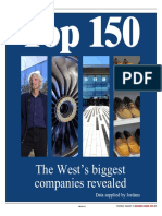 Top 150 Businesses in the South West