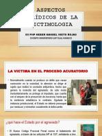 Aspectos Jurídicos de La Victimologia