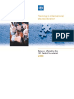 Iso Training Brochure