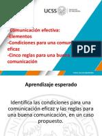 Condiciones Para Una Comunicación Efectiva