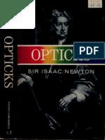 [Newton]Opticks 4ed