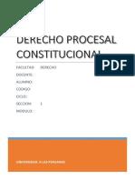 TRABAJO DERECHO PROCESAL CONSTITUCIONAL