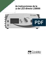 FUENTE DE LUZ_Conmed_LS8000_ Manual Usuario (Español).pdf