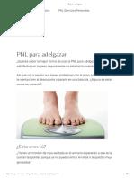 PNL Para Adelgazar