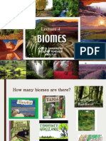 Lecture 4 Biomes