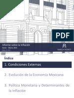 Informe Trimestral de Inflación