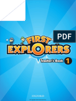 First Explorers TEACHERS BOOK