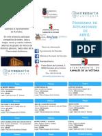 Programa actividades EnRedArte 2019