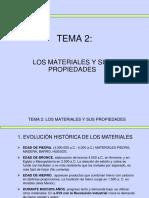 Los materiales y su propiedades